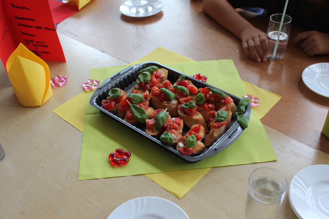 """""""Das perfekte Dinner"""" mit Hätz for Kids"""